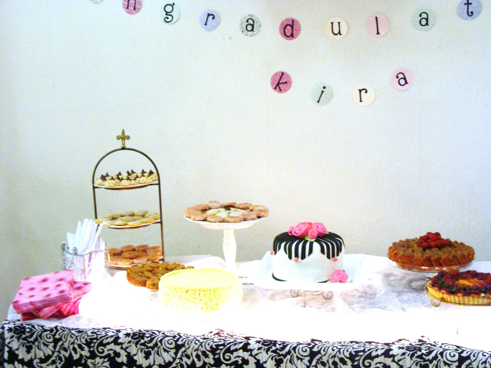 paris themed graduation party