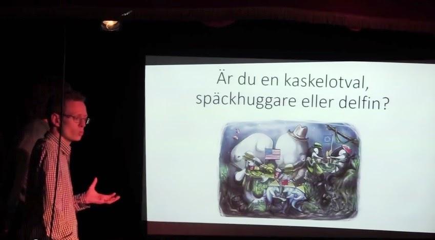 Presentation av Olja för Blåbär i Stockholm
