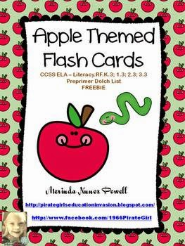 K-3 Apple Freebies