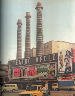 El Teatre Apolo i les Tres Xemeneies