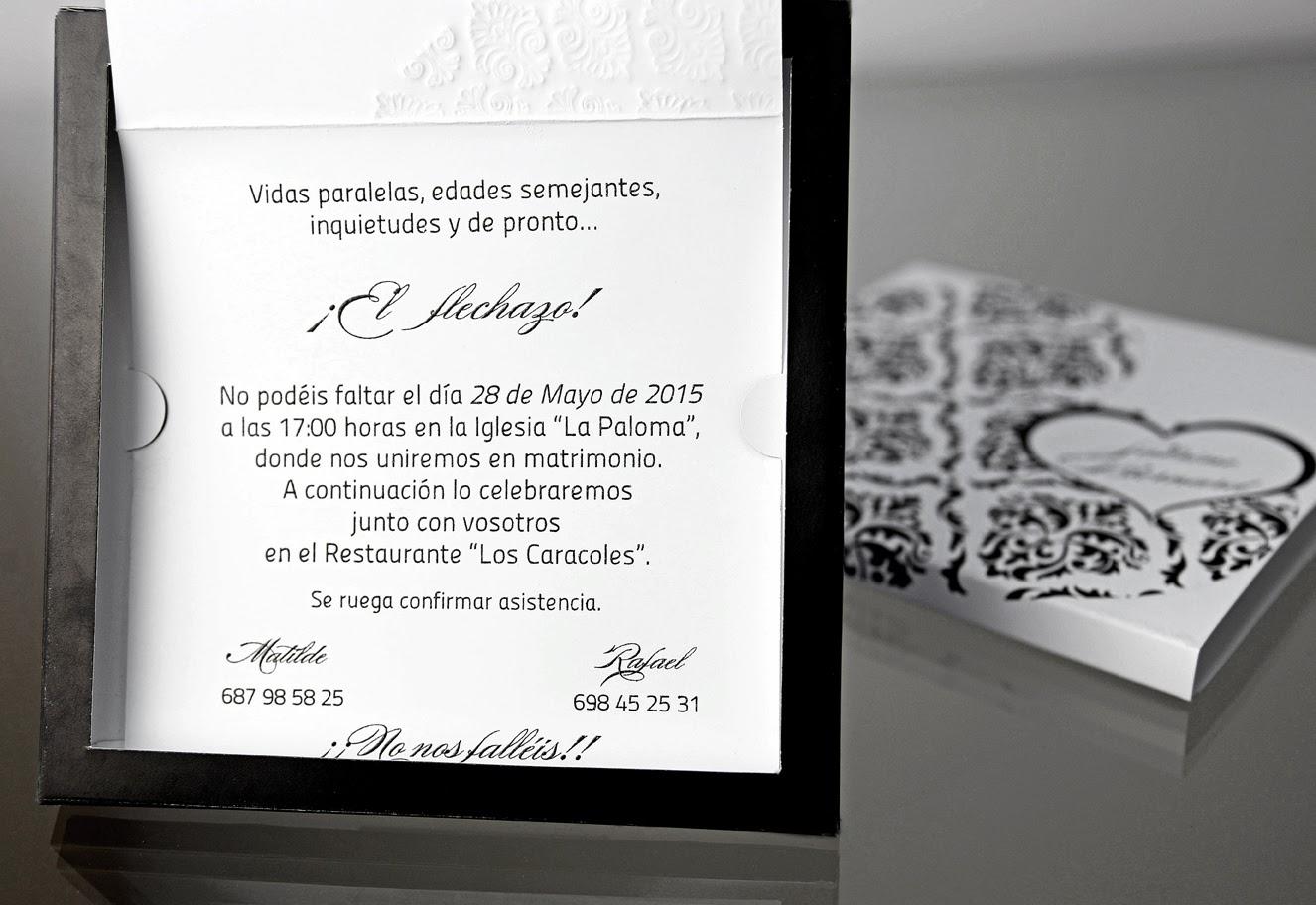INVITACION DE BODA 34910 CARDNOVEL