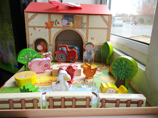 HABA 75th, Haba Farm playset, Haba wooden toys