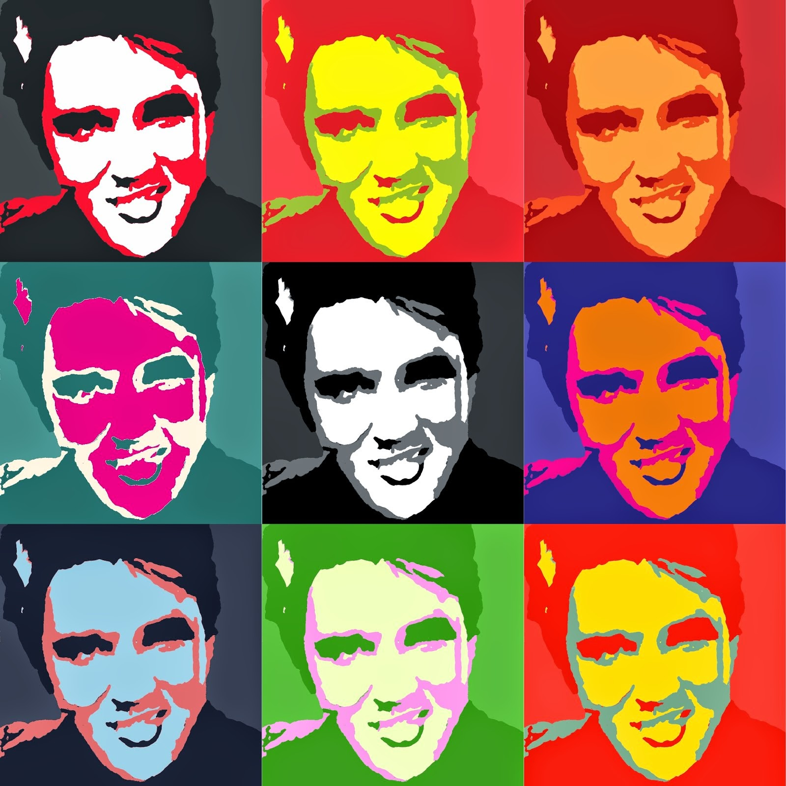 Elvis paintings