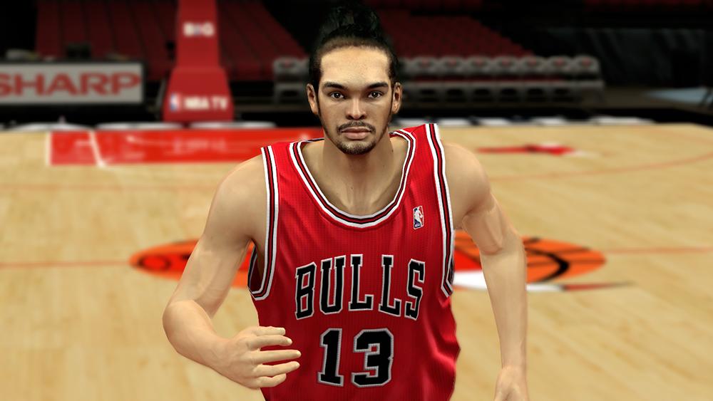 Joakim Noah Cyberface Mod