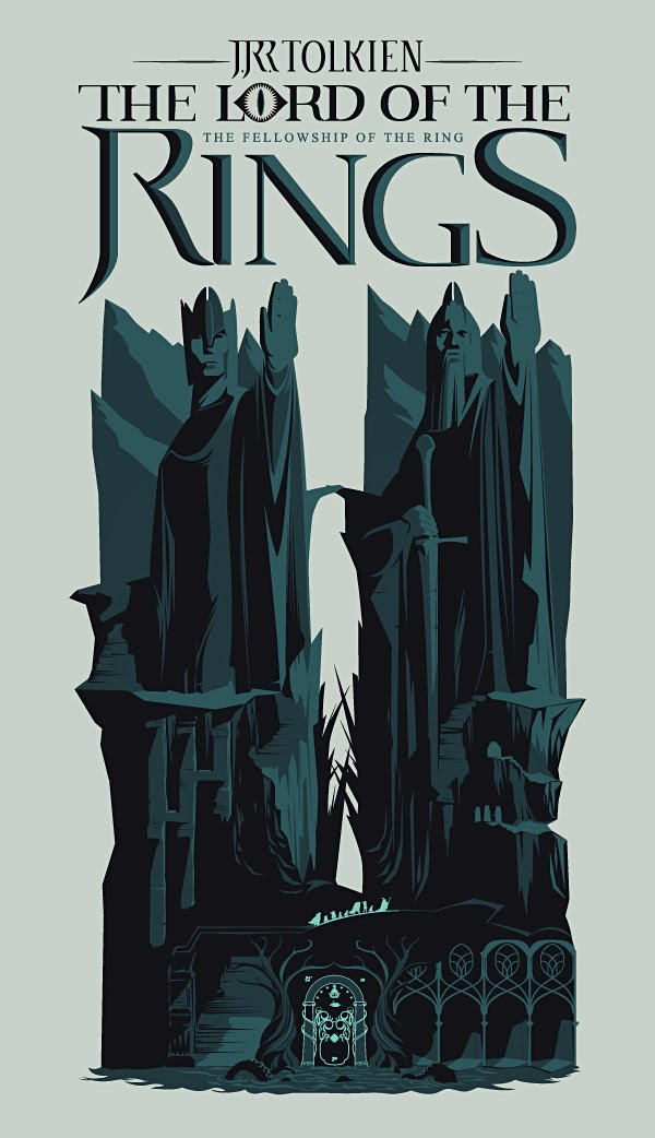 Lotr Book Cover Art ~ The geeky nerfherder cool art lord of rings