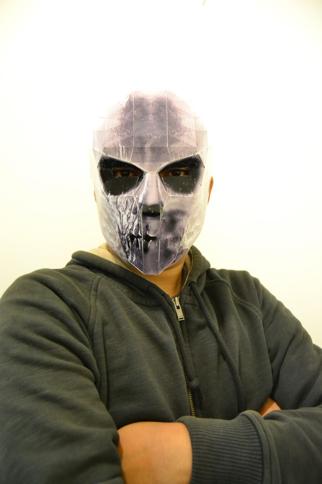 Tyson Rios Papercraft Mask