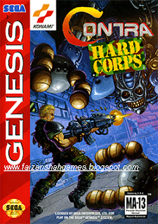 Contra hard corps game