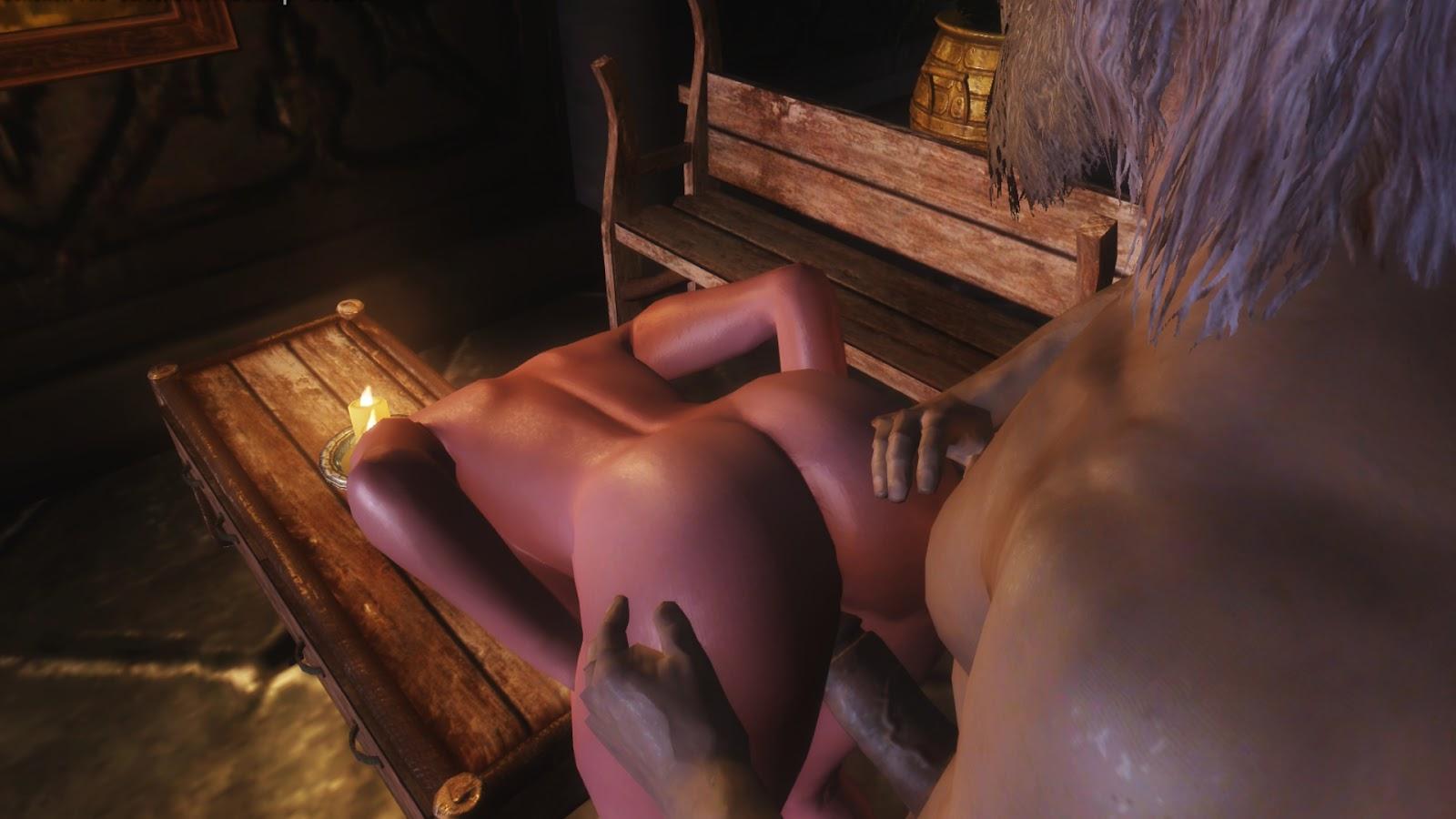 мод в скайриме проститутки