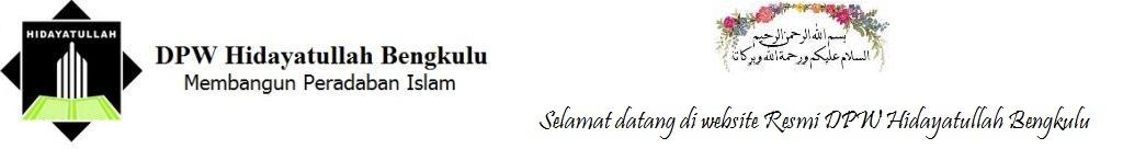 dpwhidayatullahbengkulu.com [ Website Resmi DPW Hidayatullah Bengkulu ]