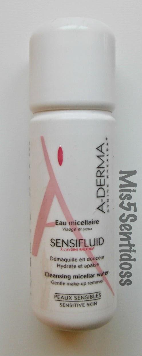 A-Derma Agua micelar