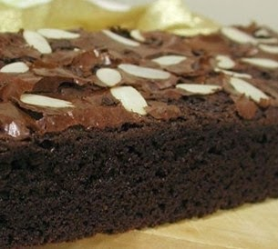 brownies panggang coklat