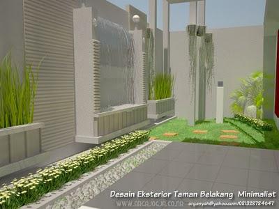 taman minimalis modern mewah 2011 desain sederhana
