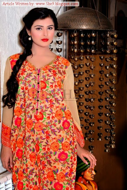 Shirin Hassan Eid Collection 2014-2015 Catalog