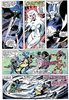 X-men v1 #121 marvel comic book page art by John Byrne