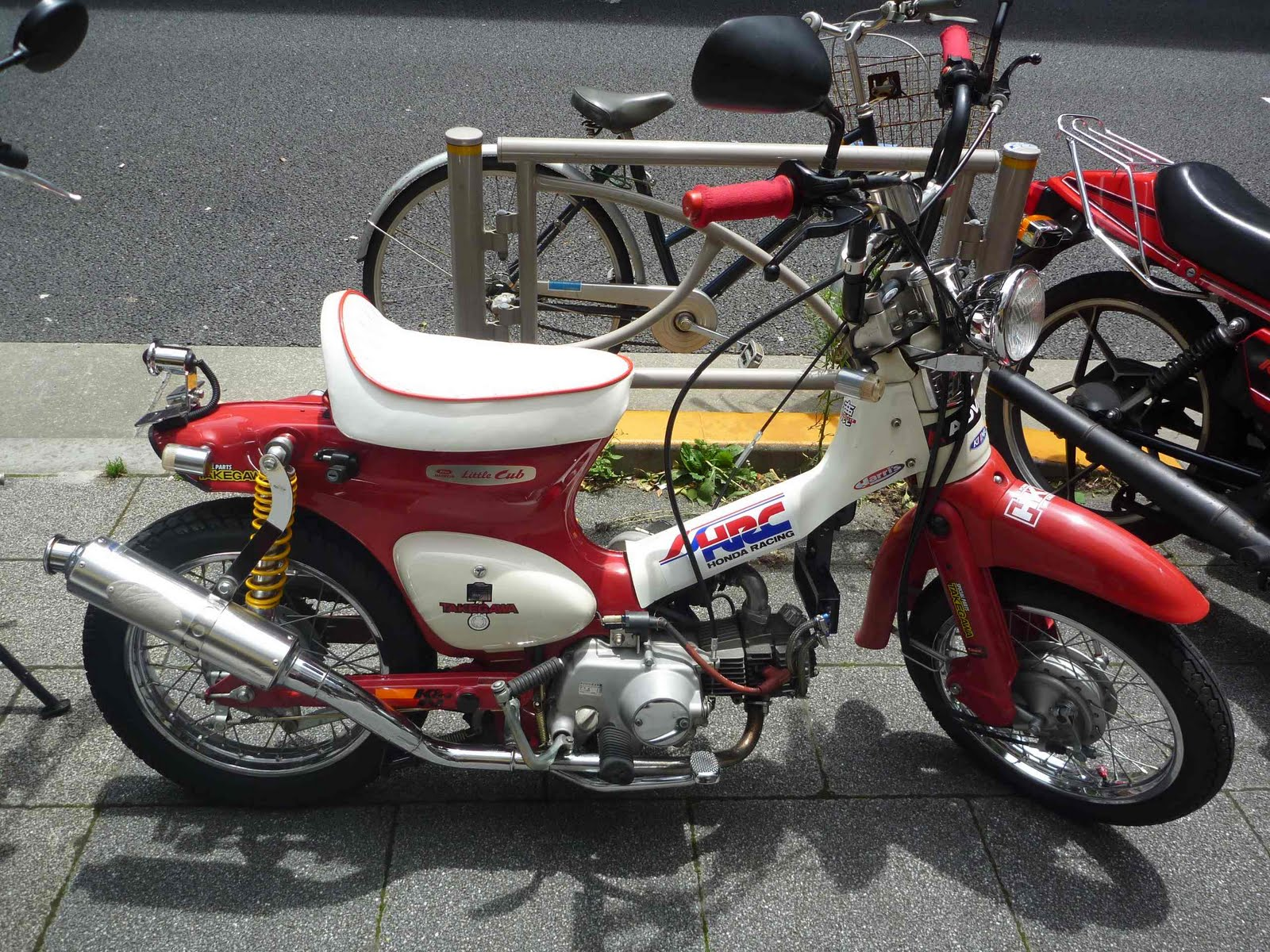 R4L  Honda Cub Racer