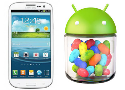 samsung galaxy s3 updated to jelly bean