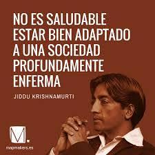 Según Jiddu Krishnamurti