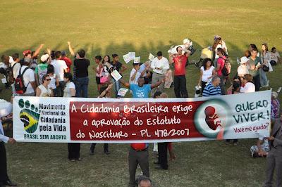 Brasília 31 de Agosto 2011 Marcha Pela Vida