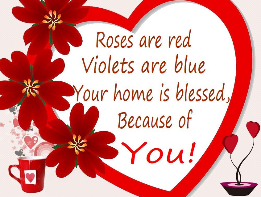 Happy Valentines Day Short Sayings, Cute Phrases 2014