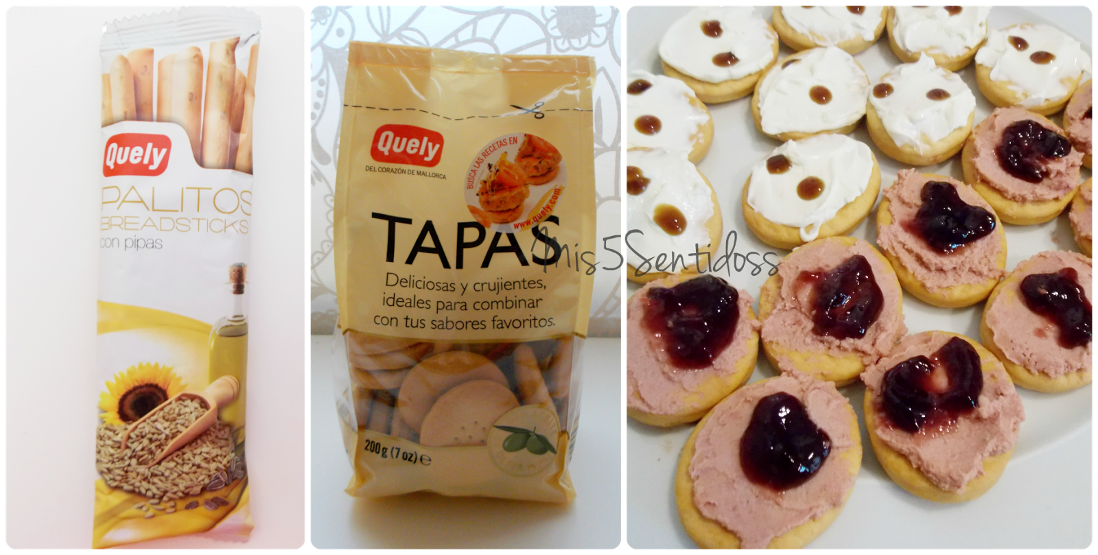Degustabox Quely tapas y palitos