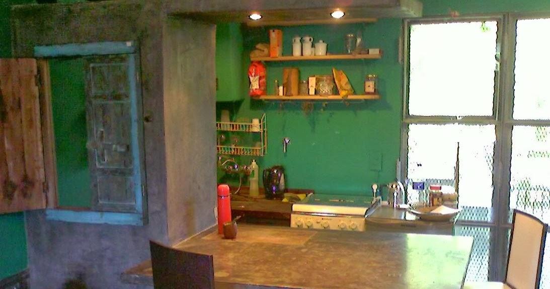 Muebles en cemento light estilo ribera mueble barra cocina - Mueble barra cocina ...