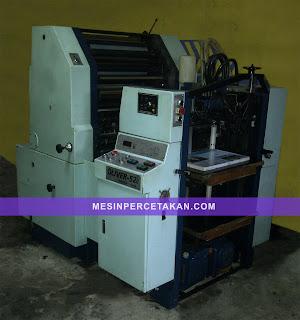 Oliver 52E ex. Jepang, mesin percetakan original Sakurai Machine Japan