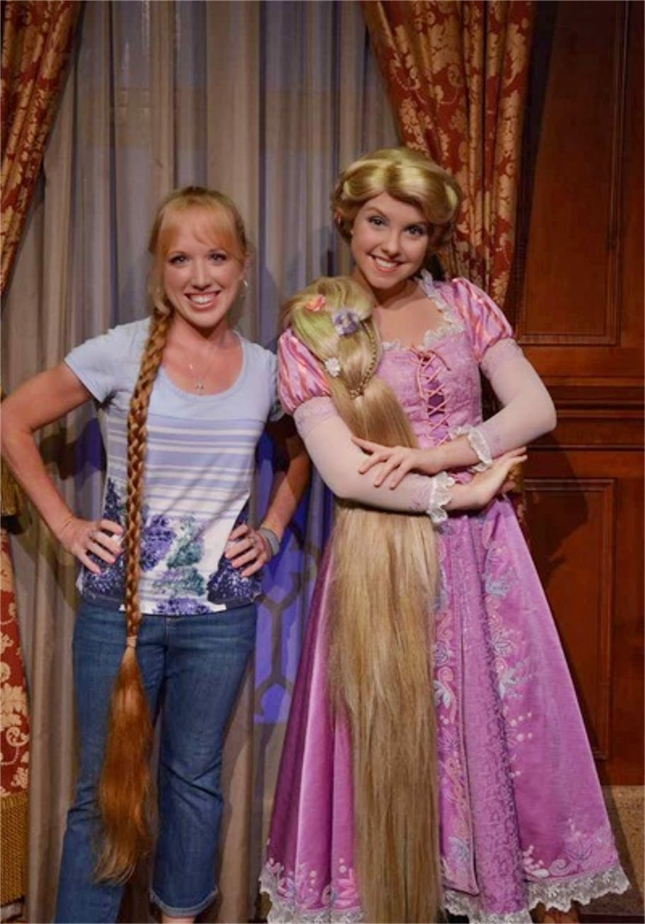 Disney Princesses And Hair Pictures With Rapunzel