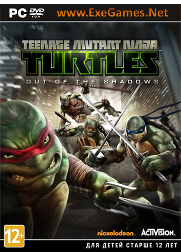 teenage mutant ninja turtles computer games
