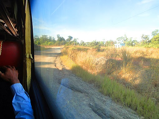 From Koh Kong to Phnom Penh by bus