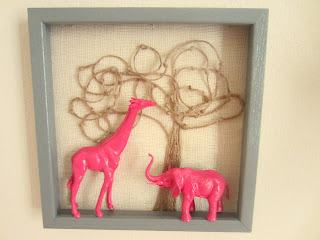 animal shadow box