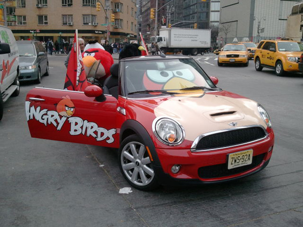 cars angry birds
