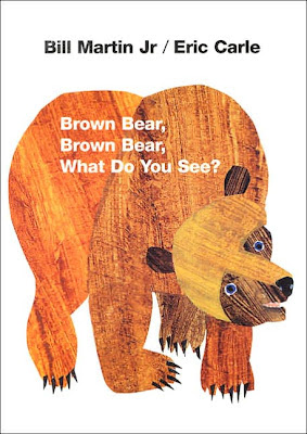 picture of brown bear book by Bill Martin
