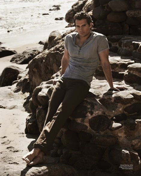 Henry Cavill by Mariano Vivanco for InStyle