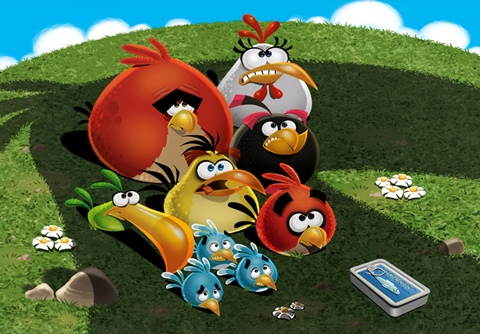 Angry Birds 100%: Angry Birds Mighty Eagle