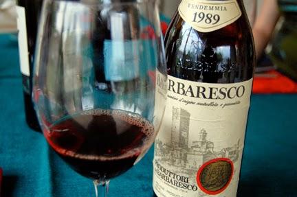 итальянское красное вино Барбареско