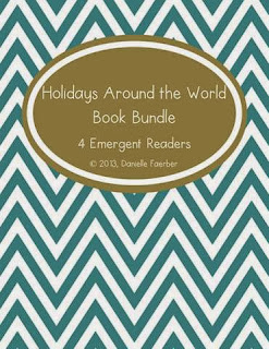 http://www.teacherspayteachers.com/Product/Holidays-Around-the-World-4-Emergent-Readers-for-December-431710