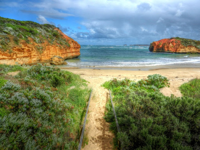 Beach at Port Campbell National Park, Victoria, Australia photo by John Fitzgerald