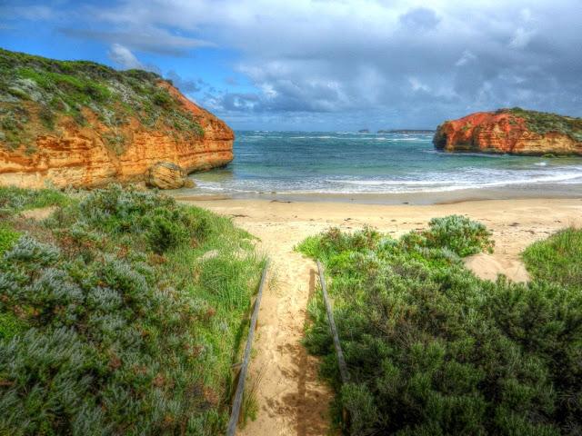 Beach at Port Campbell National Park, Victoria, Australia photo by John Fitzgerald