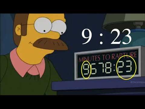 The Simpsons TV Show Points to September 24th Blackout and Comet Impact