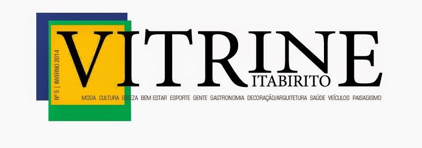revista VITRINE Itabirito