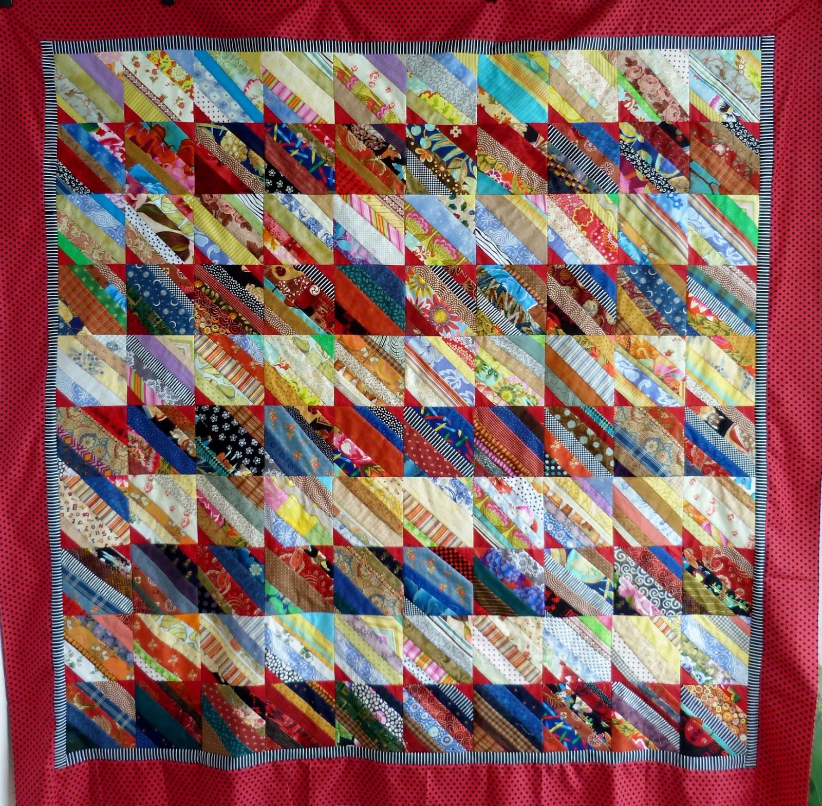 Oops lah scrappy quilt for Scrap quilt