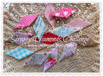 English Paper Piecing Scrappy Challenge