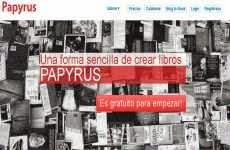 Papyrus: para crear libros digitales online en formato PDF, Epub, y Kindle