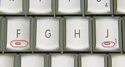 تعرف ما هو السر وراء وجود خط أسفل مفاتيح 5 ، J و F في الكيبورد