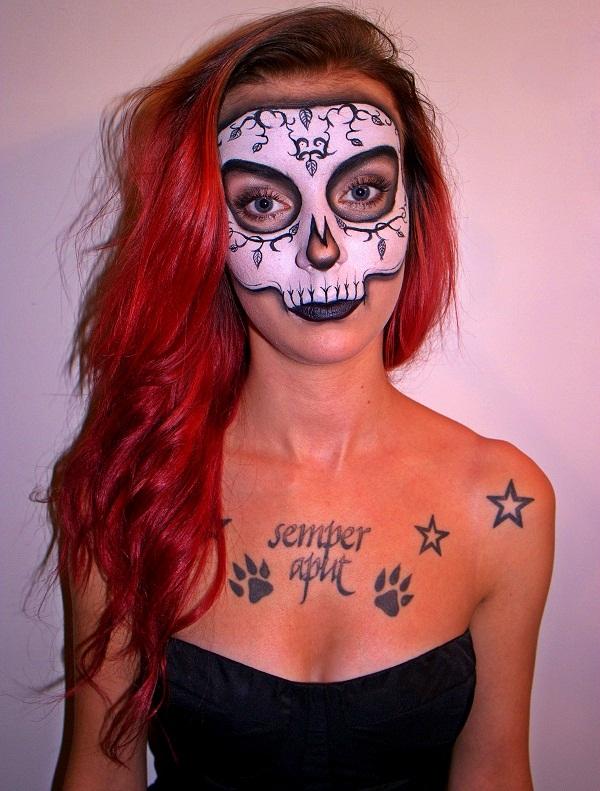 Halloweenmeikki