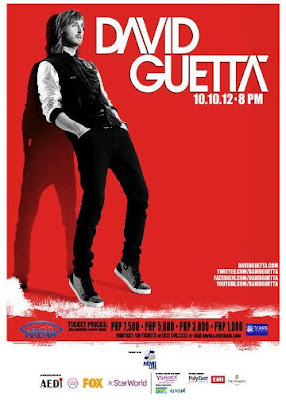 David Guetta Manila Philippines October 2012