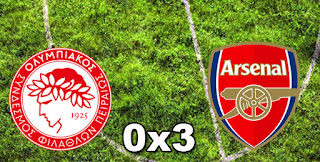 Olympiacos 0-3 Arsenal