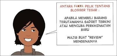 Blogger Tegar - Wajib Buat Review Produk dan Perkhidmatan!
