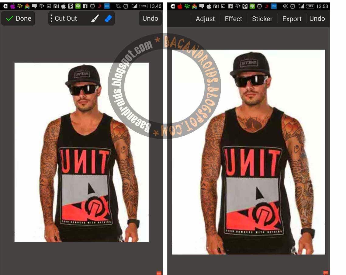 Cara gampang edit foto tato dengan picsay pro