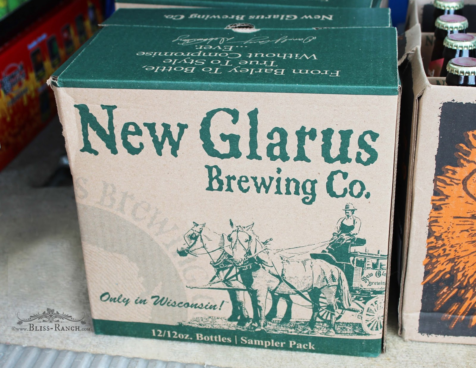 New Glarus Beer, Wisconsin, Bliss-Ranch.com